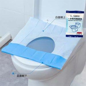 WLIBX Tek kullanımlık dışkı dışkı pad su geçirmez kaplı ahşap hamur kağıt tuvalet pedi rahat yastık kağıdı tuvalet yüzük kalınlaşmış bağımsız