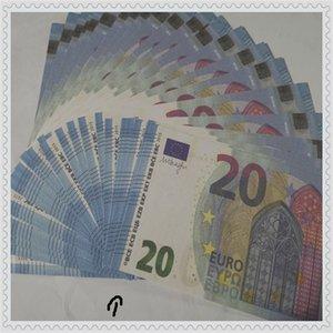 Yeni ürün banknot oyunu oyuncak çocuk erken eğitim banknot nötr erken eğitim simülasyon 20 euro banknot para