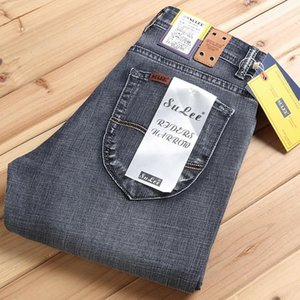 2020 Sulee Autumn New Arrival Top Quality Stretch Long Pants For Male Free Shipping Business Jeans Men