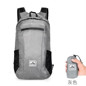 Pieghevole Sport Zaino Hwjianfeng 519 Poliestere Esecuzione Bag Ultraleggero rampicante esterno Escursionismo Zaino
