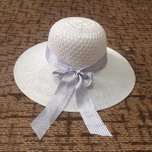 Mingjiebihuo Nueva moda protector solar Sun Sombrero Personalidad Streamer Design hueco fresco primavera y verano mujeres niñas1