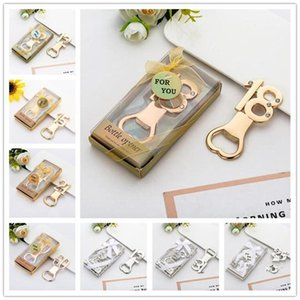 Creative Number Bottle Opener Shower Party Favor Gift Box Packaging Wedding Gift Beer Wine Bottle Opener Kitched Accessories Bar Tools