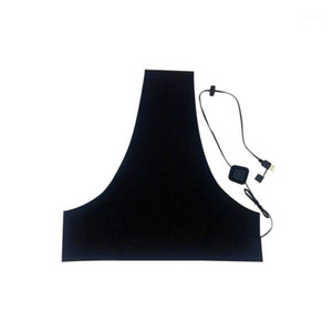 Electric Heating Vest Heated Pad Clothes Winter Warm Body Warmer with 5V USB Charger FK881