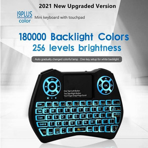i8 i9 Mini Keyboard Backlit Spanish English Russian Air Mouse 2.4GHz Wireless Keyboard Touchpad Remote Control for Phone TV BOX