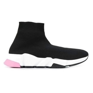 Speed knit sock sneakers Trainer Runner Sneakers Black Red Triple Black Oreo Fashion Flat Socks Boots Casual Shoes ax2