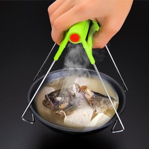Kitchen Tool Anti-Scalding Tray Multi-Function Cup Holder Take Tray Clip Casserole Clip Bold for Home Hot Dish Plate Bowl Clip