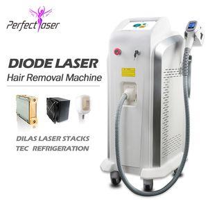 Depilazione permanente Laser High Power Professional Super! 808nm Macchina per la depilazione del laser a diodi 808nm Macchina permanente permanente 808nm macchina lazer