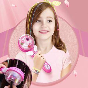 Elektrische automatische Haar-Flechtmaschine-Flechten Frisur Werkzeug Twist Strickmaschine Haar-Flechten-Weave-Mädchen-Kind-Geschenk
