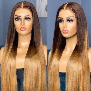 Perruque blonde péruvienne sans glucides perruque de cheveux humains avec poils de bébé 13x6 dentelle perruque avant pour femmes naturelles de cheveux 360 frontale