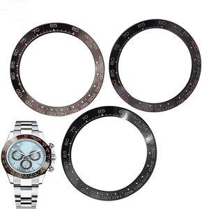 Fit For ROLEX DAYTONA 38mm size ceramic bezel Repair Tools watch accessories Lv LN watches part repairmen watchmark man wristwatches