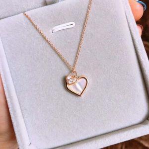 Lamoon 925 Sterling Silver Heart Colgante Collar Simple Designer Fine Joyería para Mujeres Regalo 2020 LMNI0781