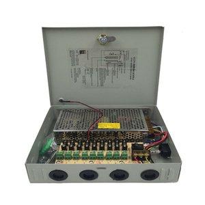 Alimentazione DC Canale 12V 10A Potenza 120W 9 Box distribuito per CCTV Security