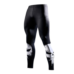 Skinny Sweatpants For Compression Fashion Leggings Jogger Men 3D Fitness Pants Superman ElasticTrousers C1001