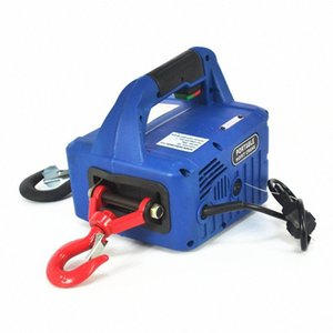Portable Household Electric Winch 500KGX7.6M with Wireless Control it5e#