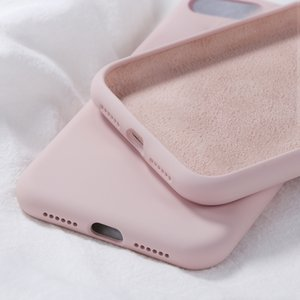 Logo case for iphone 7 8 6 6s plus Candy Coque cover for iPhone xr x xs 11 pro max silicone case with retail box iphone 11 case