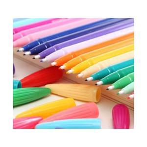 Новый дизайн 24COLOR / LOT GEL ручки монами плюс ручка корейские канцтовары Canetas Papelaria Zakka подарок офис Mater Jellmzm Lucky2005
