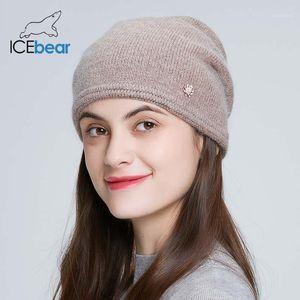IceBear 2020 de Alta Qualidade Chapéu feminino Cap e-MX191041
