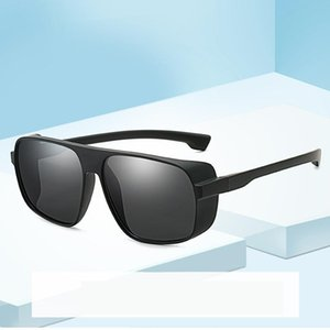 Minus Reflection Effects Pilot Goggle Unisex Tony Star Sunglasses Men Steampunk Designer Punk Sun Glasses Women Mirro 2020 UV400