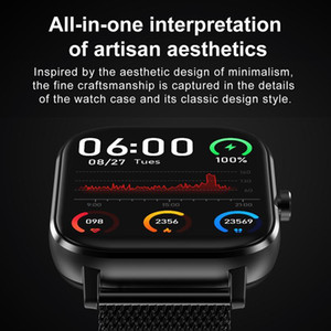 Smart Watch Smart Watch Men Bluetooth Call ECG 1.54 inch Smartwatch Women Blood Pressure Fitness for android ios Take pictures remotely