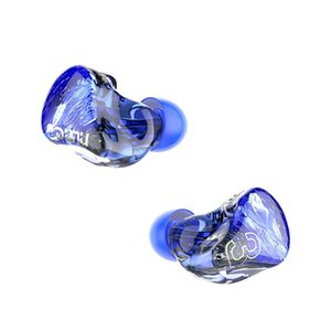 DUNU SA3 3BA Triple Driver HiFi Music In-ear Earphones with 3D Printed Shell Hand-painted Faceplate Detachable 0.78mm 2Pin Cable