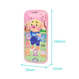 New style kid puzzle electric toy gift fun touch screen smart phones high quality multi function