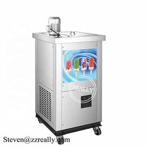 Gewerbe Edelstahl RL-1MP einzelne Formen Eis Eis am Stiel Maschine automatisches R404A Eis Eis am Stiel, die Maschine