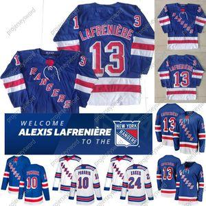 13 Alexis Lafreniere Jersey New York Rangers 8 Jacob Trouba 10 Artemi Panarin 24 Kaapo Kakko 89 Pavel Buchnevich 93 Mika Zibanejad Trikots