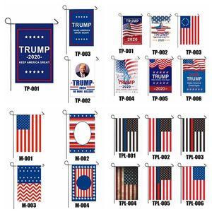 Başkan Donald Trump 2020 Bayrak yap Keep ABD Amerika Büyük Tek ABD Seçim Yurtsever Dış Dekorasyon Banner Bahçe Bayrak VT1097 Taraflı