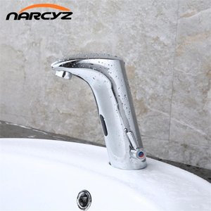 Faucet Sensor Bathroom Automatic Hands Touch Free Water Saving Inductive Electric Water Tap Battery Power Basin Faucets XR8802
