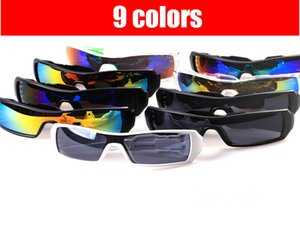안경 남성 스키 야외 스포츠 안경 UV400 보호 선글라스 등산 패션 자전거 Eyewears 남성 자전거 로고 고글