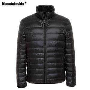 Alpine winter men's sports cap outdoor Cape ultra lightweight thermal coat solid portable hiking duck bottom va632