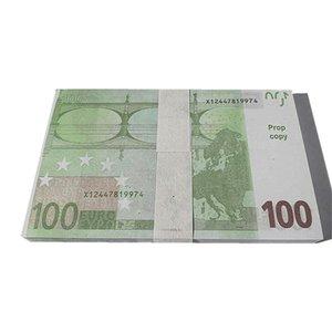 Währung Play Prop MONEY 100PCS / PACK K7 100 BH Geld gefälscht gefälschter Faux Movie EUR Euro ETMUP EUROS BILLET DOLLAR SFQW