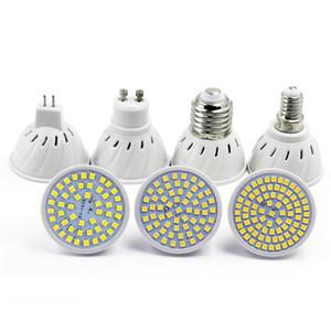 E27 E14 MR16 GU10 LAMPADA LED BULB 110V 220V Bombillas LED Lâmpada Spotlight 48 60 80 LED 2835 SMD Lampara Spot Light