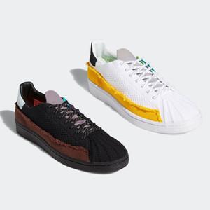 Grateful Pharrell Williams x Superstar mens running shoes nmd race Cloud White Core Black nmds men women platform trainers sports sneakers