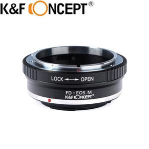 Adaptateur de montage pour lentille de concept KF pour la lentille de montage FL FD sur EOS M Caméra