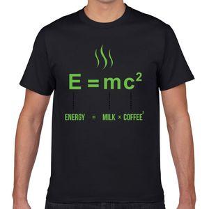Tops T-shirt des hommes équation de vie de base Noir Geek court Homme T-shirt XXXL