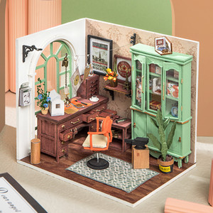 Robotime Rolife bricolaje casa de muñecas de madera miniatura Estudio 201013 DGM07 de Jimmy