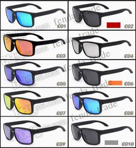 Promotion Chaude Vente Brand Sunglasses polarisées Hommes Femmes Sport Vélo Lunettes Vélo Lunettes Lunettes 10 couleurs Options Moq = 10pcs Promotion Fasthip