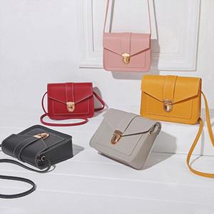 Fashion Small Crossbody Bags for Women 2020 New Mini PU Leather Shoulder Messenger Bag for Girl Yellow Bolsas Ladies Phone Purse