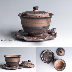 Tangpin Teaware Ensembles Céramique Gaiwan Teapot tasse de thé en porcelaine chinoise Kung Fu Tea Set Drinkware Tangpin Teaware yxlfNC dh_niceshop