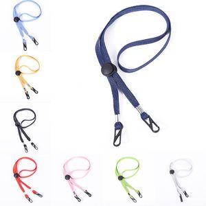 Face Mask Lanyard for Women Men Adjustable Length with Clips Masks Strap Holder Around Neck Hanger Cords String Necklace Kimter-X765FZ