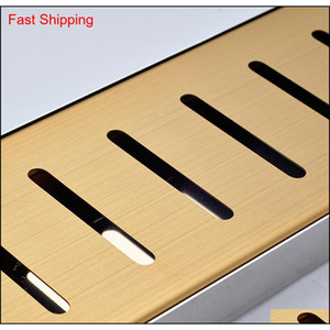 Wholesale And Retail Golden Finish Stainless Steel Floor Mounted Drain Shower Floor Mounted Grate Waste qylGJM new_dhbest
