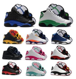 Hombres Jumpman 13 13s zapatos de baloncesto Flint Hyper Real Lucky Island Aurora verde del patio Chicago Breed Gs deporte de la mujer zapatillas Entrenadores