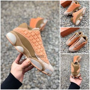 Jumpman 13 13s Cap And Gown Mens Kids Basketball Shoes Atmosphere Grey Terracotta Chicago Cat Black Flints men sports sneakers