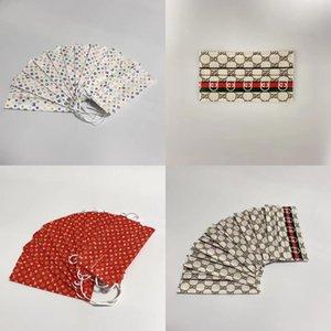 Pack Qlity Masks 10 unids Fasion Dener Fa Mask Mask Cild Fa Boys Capa Protectora Top Girls Desechables # 582 3 Askug