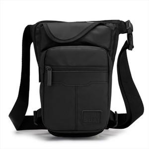High Quality Waterproof Nylon Canvas Men Drop Leg Bag Fanny Pack Travel Shoulder Messenger Cross Body Male Hip Belt Waist Bags