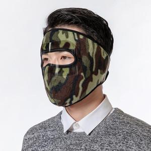 Schwarze Gesichtsmasken Winter Ski Maske Männer Frauen im Freien Schutz Gesichtsabdeckung Ohrenschützer Radfahren Fahrrad Motorrad Warme Winddichte Headwear EWC3648L