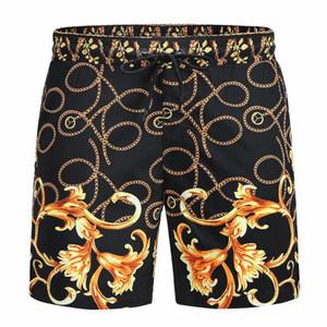 Wholesale verano pantalones cortos de moda nuevo tablero de diseñador corto secado rápido traje de baño tablero de impresión pantalones de playa hombres hombres nadar pantalones cortos G7