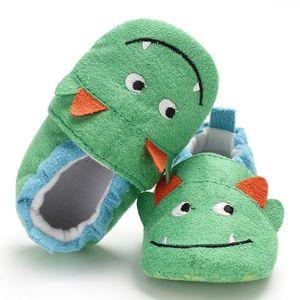 CHAMSGEND HOT NEW Baby Girl Soft Booties Snow Cartoon Panda Floor Shoes Prewalker Warm Shoes dropship Oct29 2020