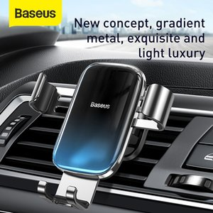 Gravity Baseus Auto Air Vent Holder Car Accessories Mobile Phone Mount Stand For iPhone Huawei Samsung Xiaomi
